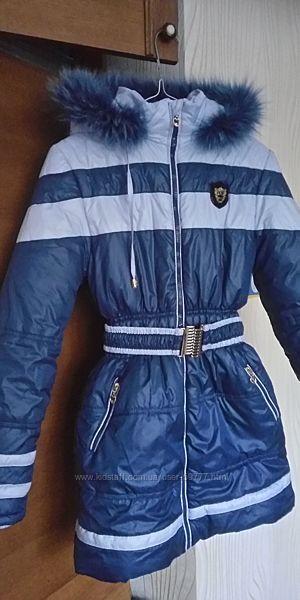 Зимнее пальто-куртка Barbarris. Состояние нового
