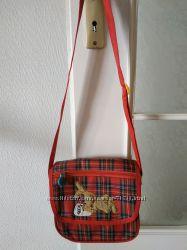 Стильная сумка-шотландка в идеальном состоянии