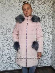 Зимнии куртки и пальто для девочек. Украина. Самые трендовые модели и цвета