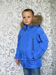 Крутые подростковые зимнии курточки для мальчишек, до 170см. Новинка 2016