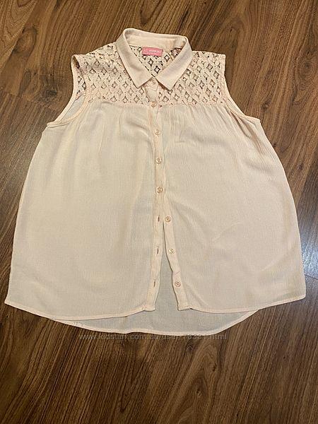 Хлопковая блузка Waikiki для девочки 10-11 лет