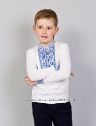 Распрадажа трикотажные вышиванки для мальчиков по отличной цене