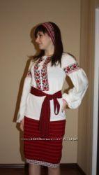 РАСПРОДАЖА - костюм в национальном стиле для юной украиночки на рост 164