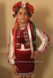 РАСПРОДАЖА - костюм в национальном стиле для юной украиночки на рост 98-104