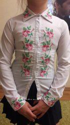 Нарядная рубашка вышиванка 1-3 класс