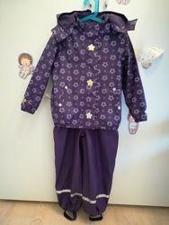 Дождевой костюм на флисе Tcm Tchibo 2 шт.