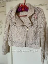 Кружевной пиджак h&m
