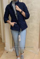 Весенняя легкая куртка синяя короткая пуховик короткий emma&gaia оригинал