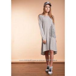 146-164  Платье из тонкого трикотажа  Фью ТМ Овен