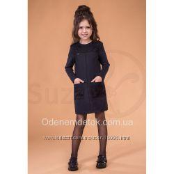 122-158   Платье школьное Корделия трикотаж  TM Suzie