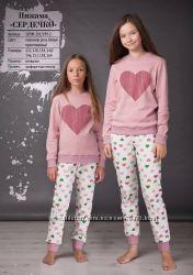 122-164 Пижама детская Сердечко  Oven
