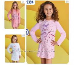 122-164р Ночная рубашка  мод. 9395. 9394 Baykar