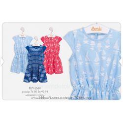 74-98 Платье летнее ПЛ244  Бемби