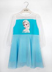 98-122 Платье  Эльза   ТМ Vidoli