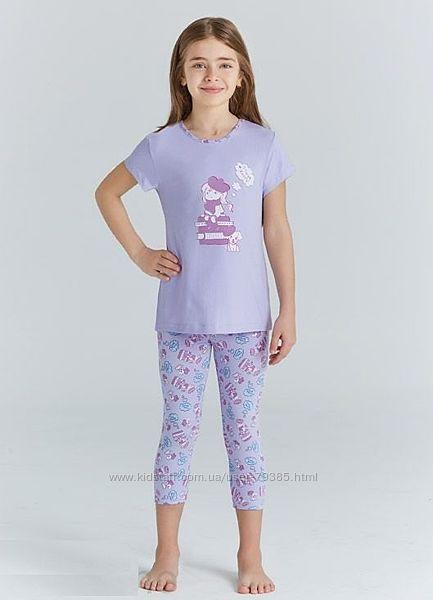98-134  Пижама для девочки летняя  мод.9209 Baykar