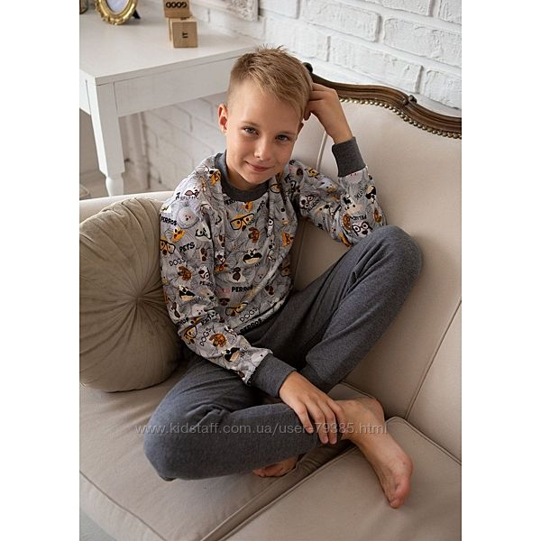 122  Пижама для мальчика Гав  тм Oven