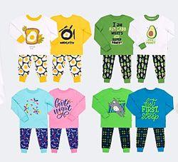 80-146  Пижама детская на манжетах ПЖ53 интерлок  Бемби