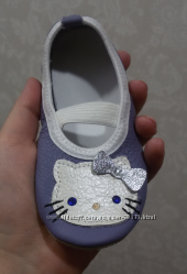Кожаные чешки Helo Kitty