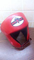 Боксерский шлем Matsa на 6-10 лет