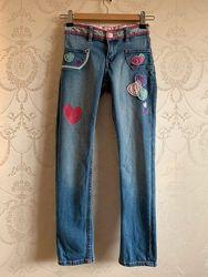 Штани дівчинці H&M 128-140 см