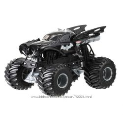 Хот Вилс Монстер Джем Джип 1 24 Hot Wheels Monster Jam Mattel