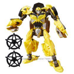 Трансформеры Последний рыцарь Бамблби Transformers Deluxe Bumblebee