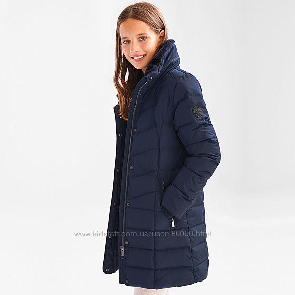 Удлиненная куртка пуховик C&A Blue Распродажа