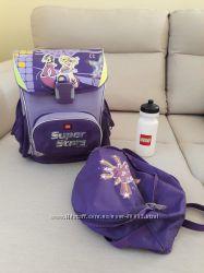 Рюкзак LEGO шкільний ортопедичний дівчинці 1-4кл. , комплект