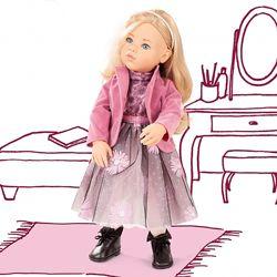 Німецькі вінілові ляльки Gotz, попередня та нова колекція 2020