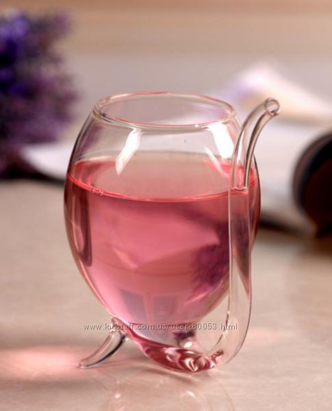 Бокал для вина Вампир 250мл бокал трубка с трубочкой Уценка