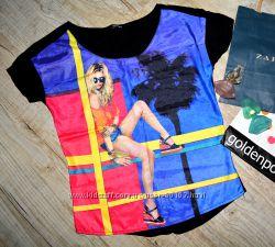 Стильные футболки, размер СМ