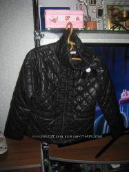 стеганая куртка для девочки р. 122