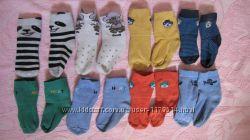 Носочки детские бу 1-2 лет фирменные и простые