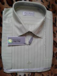 Pan filo новая светло-зеленая-салатовая мужская рубашка 54р43182188