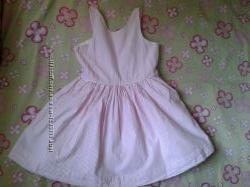 Ralph lauren летнее оригинальное платье-сарафан девочке 4-6лет