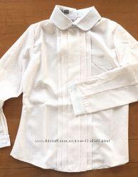 Блузка, рубашка белая для девочки, красивая, 134, 146,164 Більшомірить