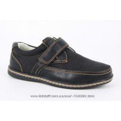 Туфли мокасины для мальчиков Школа B&G 33, 34, 35, 36, 38