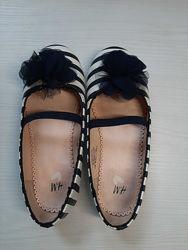 Туфли, туфельки, балетки для девочки HM