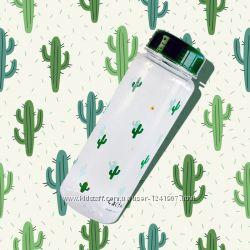 Качественная бутылочка для воды с рисунком Summer Bottle, 500мл, My Bottle