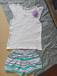 футболки и шорты на 4-5л