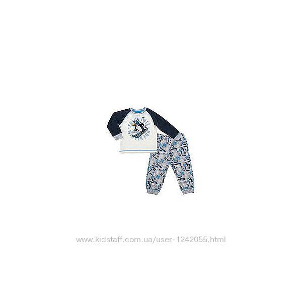 Пижама теплая флисовая Сhicco р.110-116