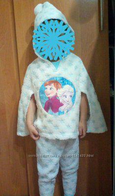 Костюм пижама Фрозен на 2-3 годика