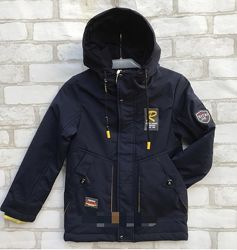 Демисезонная куртка мальчику, размер 28,34,36.