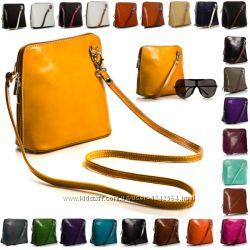 10e95e29423a Кожаная сумка кросс-боди VERA PELLE, 695 грн. Женские сумки ...