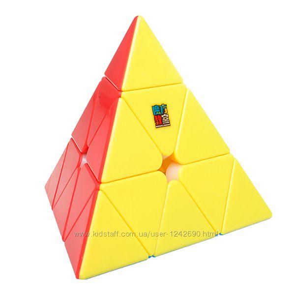 Пирамидка кубик Рубика из цветного пластика от MoYu Pyraminx Yulong