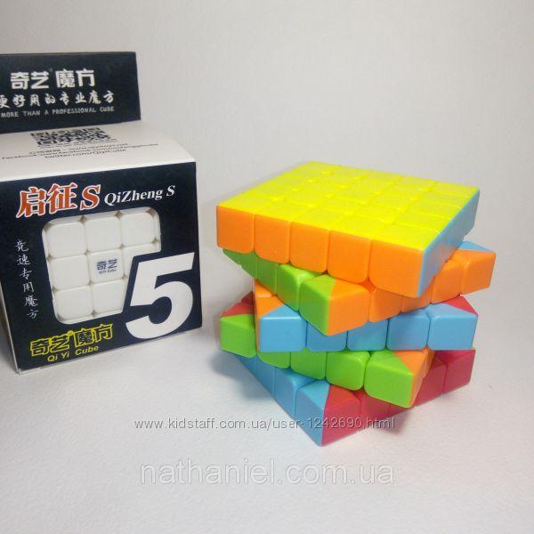 Кубик Рубика 5х5 из цветного пластика QiYi скоростной