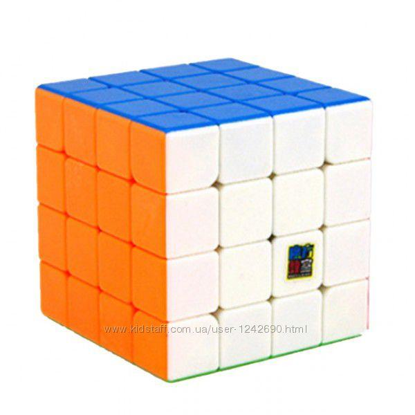 Кубик Рубика 4x4 из цветного пластика MoYu
