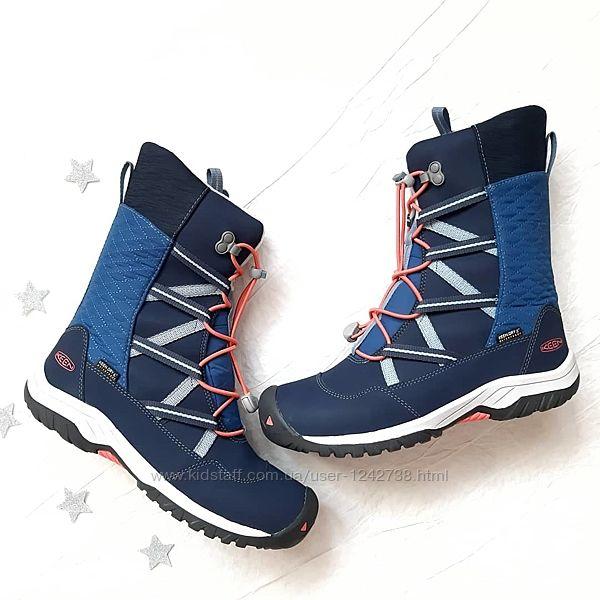 Keen теплые зимние ботинки подросток оригинал р.36,37