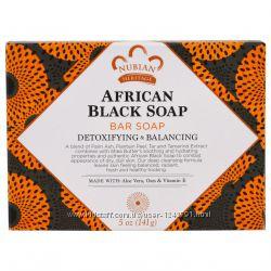 Скидки. Легендарное Nubian Heritage, Африканское черное мыло, 141 г