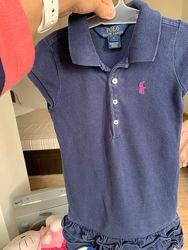 Платье для девочки Polo Ralph Lauren